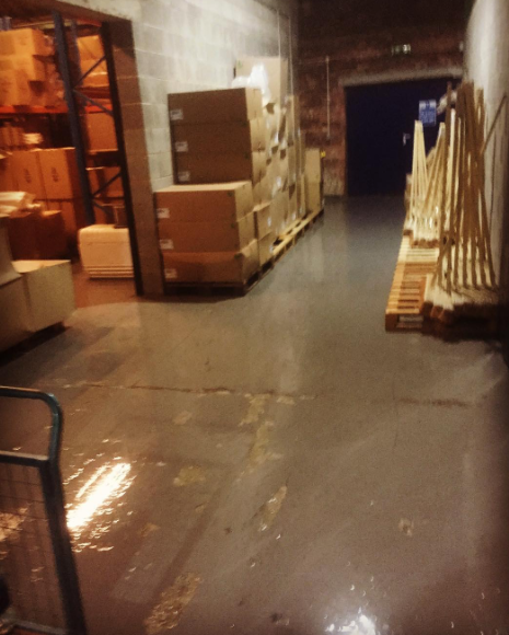Industrial Warehouse Cleaning