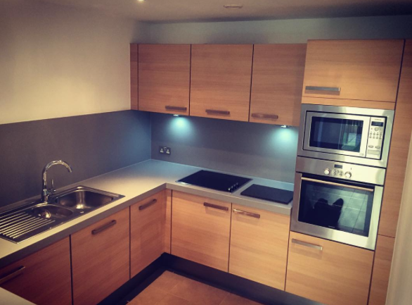 clean kitchen for the new tenants and landlord